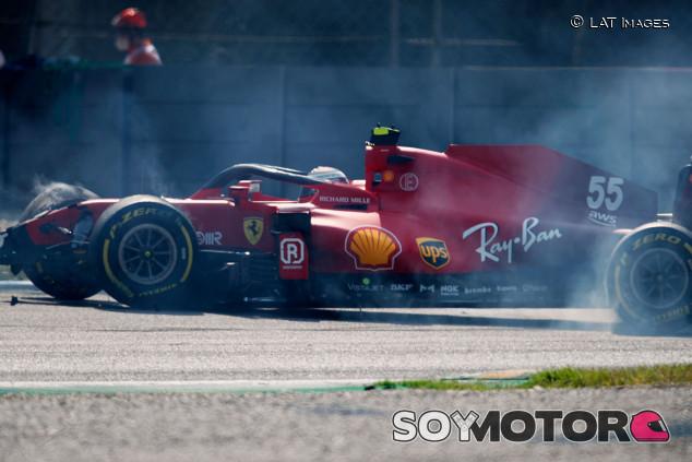 La FIA revisará qué pasó con los cinturones en el accidente de Sainz en Monza - SoyMotor.com
