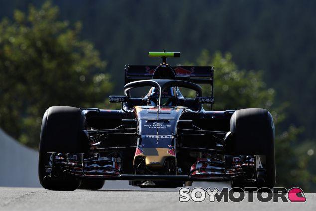 Carlos Sainz con el halo en Spa-Francorchamps - LaF1