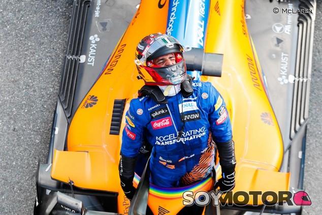 Carlos Sainz en el GP de Italia F1 2020 - SoyMotor.com