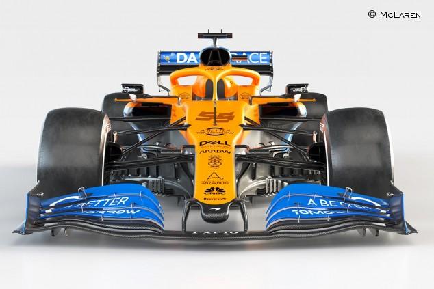 McLaren presenta el MCL35, el coche 2020 de Sainz y Norris - SoyMotor.com