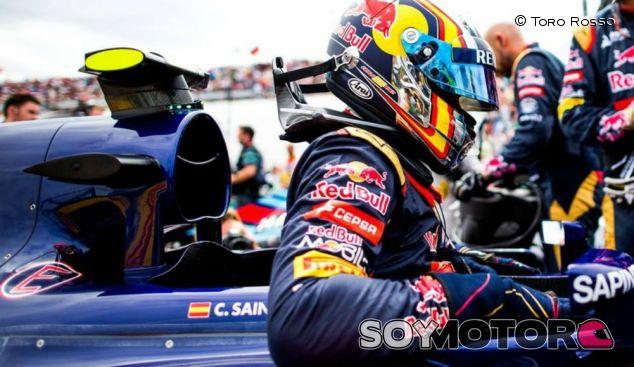Carlos Sainz en una imagen de archivo de 2015 - LaF1