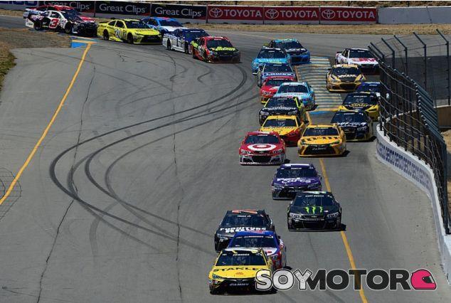 Carrera de la NASCAR en Sonoma - LaF1