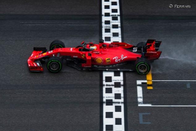 Sebastian Vettel en el GP de Alemania F1 2019 - SoyMotor