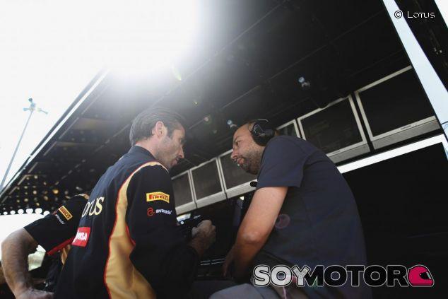Matthew Carter y Gerard Lopez, dirigentes del equipo Lotus - LaF1