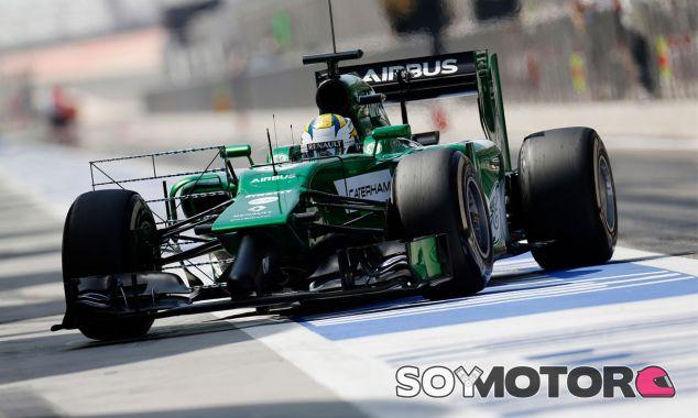 Marcus Ericsson en los test de Baréin - LaF1