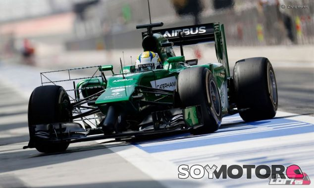 Marcus Ericsson en los tests de Baréin - LaF1