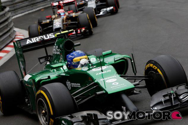 Marcus Ericsson en Montecarlo - LaF1