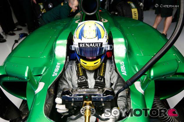 Marcus Ericsson a los mandos del CT05 - LaF1