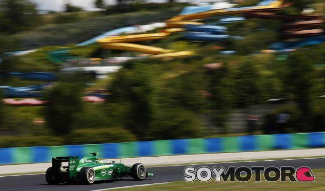 Caterham en el GP de Hungría F1 2014: Viernes