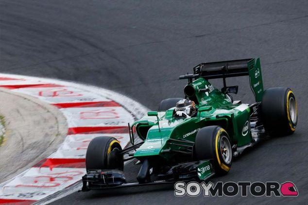 Kamui Kobayashi en Hungría - laF1