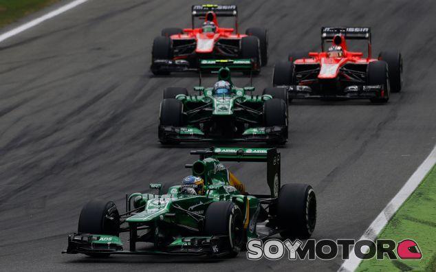 Charles Pic lidera la lucha en el fondo de la tabla tras la salida de Monza - LaF1