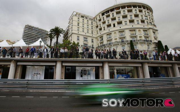 Caterham en el GP de Mónaco F1 2014: Jueves