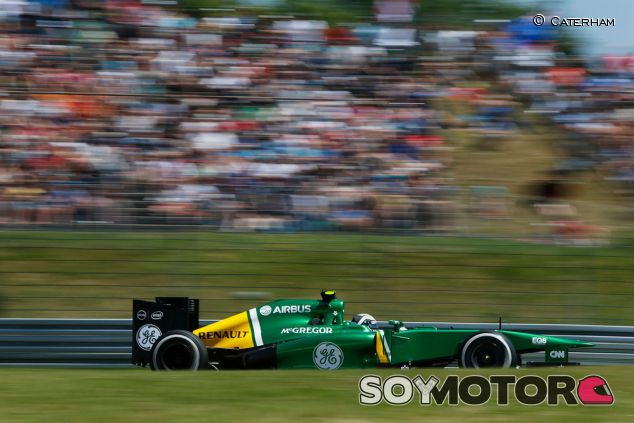 Caterham en el GP de Alemania F1 2013: Domingo