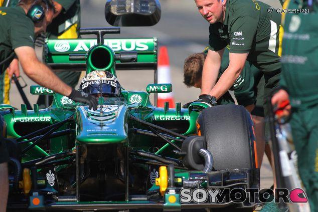 Caterham utiliza el test de jóvenes para desarrollar el coche de 2014