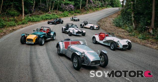 Caterham 60 aniversario - SoyMotor.com
