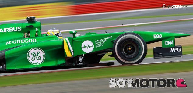 Caterham en el GP de Gran Bretaña F1 2013: Viernes