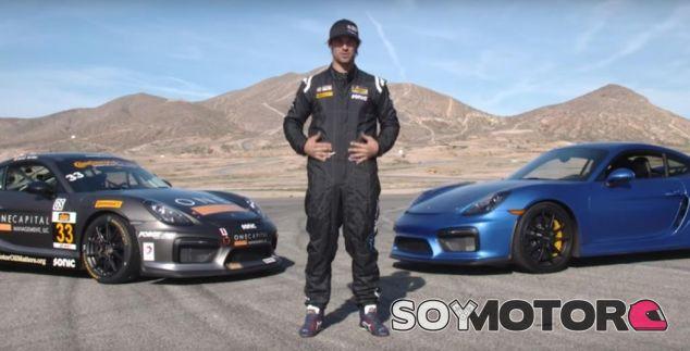 VÍDEO: ¿Qué diferencia a un Porsche Cayman GT4 de su versión de competición?