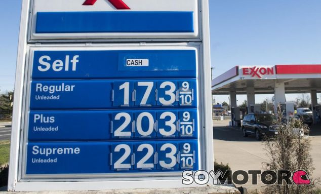 Precios de los tres tipos de gasolina extendidos en Estados Unidos según su octanaje - SoyMotor