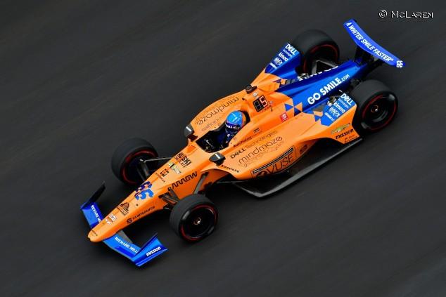 Fernando Alonso en las 500 Millas de Indianápolis - SoyMotor