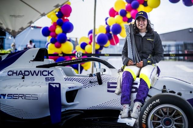 Jamie Chadwick, campeona de las W Series - SoyMotor