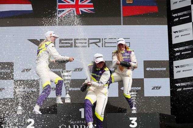 W Series: victoria de Chadwick en Misano; premio a la constancia para García - SoyMotor.com