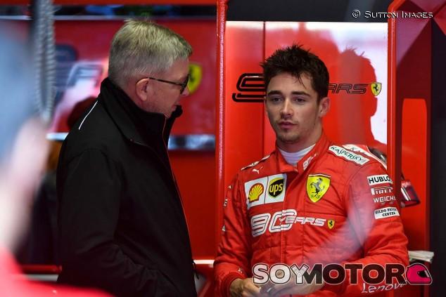 Charles Leclerc en el GP de Italia F1 2019 - SoyMotor.com