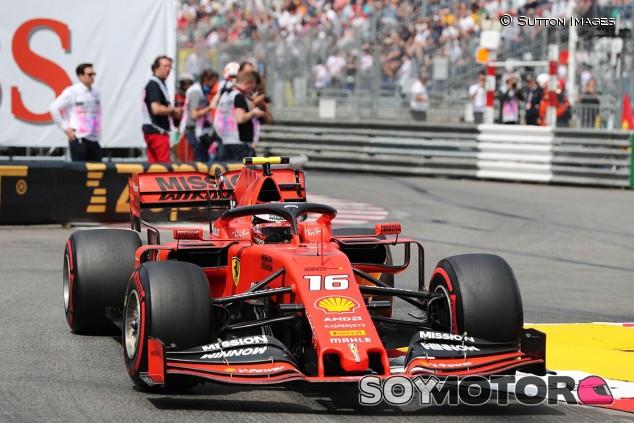 Charles Leclerc en el GP de Mónaco F1 2019 - SoyMotor