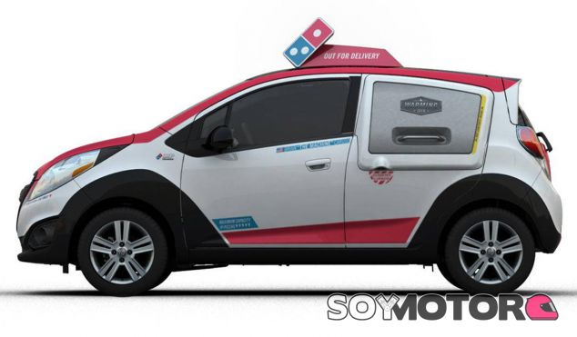 El Chevrolet Spark de Domino's Pizza pronto estará en acción - SoyMotor