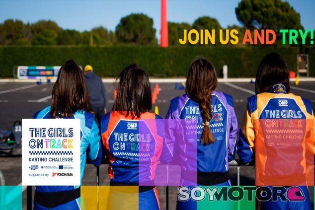 Cartel de la iniciativa 'Girls on track' - SoyMotor.com