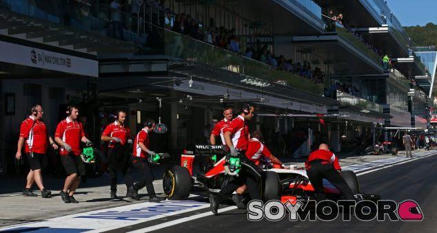 Marussia en el GP de Rusia F1 2014: Sábado