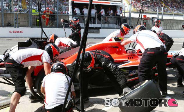 Pit stop de Max Chilton en Monza - LaF1