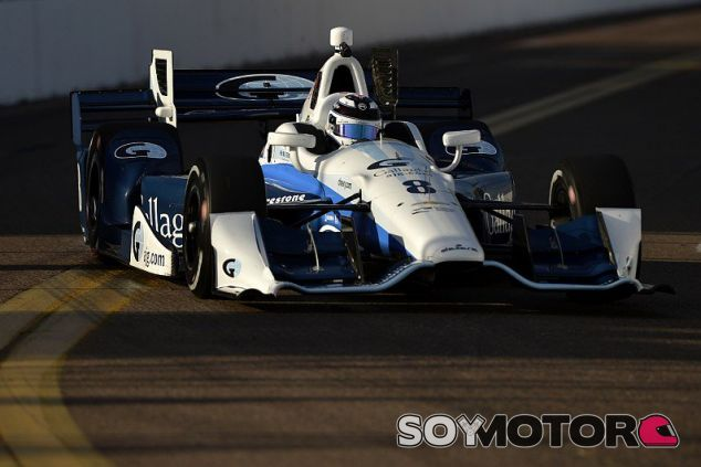 Max Chilton consiguió su primera victoria en un oval - LaF1