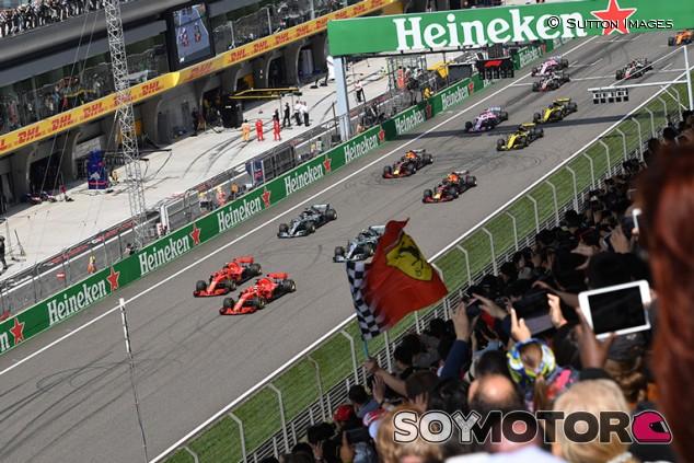 Horarios del GP de China F1 2019 y cómo verlo por televisión - SoyMotor.com