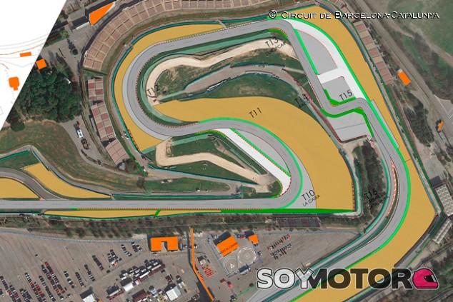 El Circuit de Barcelona-Catalunya anuncia una modificación en la Curva 10 - SoyMotor.com