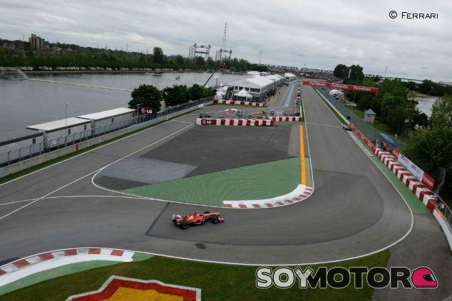 El circuito Gilles Villeneuve se prepara para una remodelación - LaF1