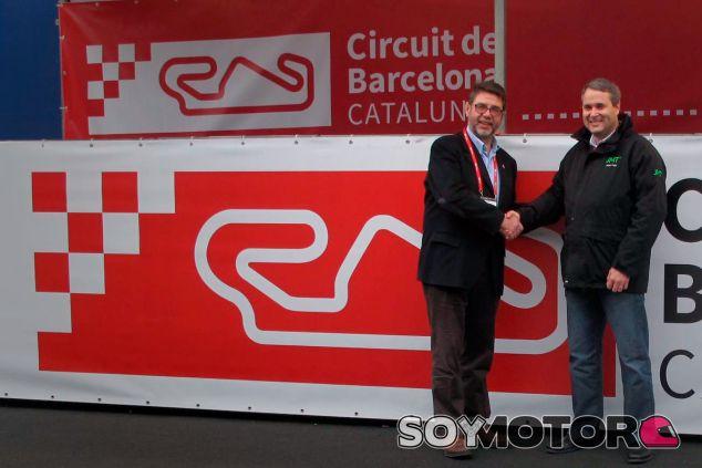 Salvador Servià (izquierda) en una imagen de archivo - LaF1