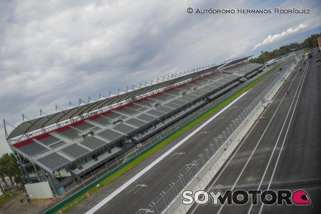 El Autódromo Hermanos Rodríguez ya está completamente listo para recibir a la Fórmula 1 - LaF1