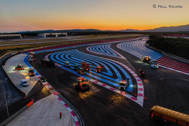 Paul Ricard reasfalta y retoca sus curvas para mejorar la competición - SoyMotor.com