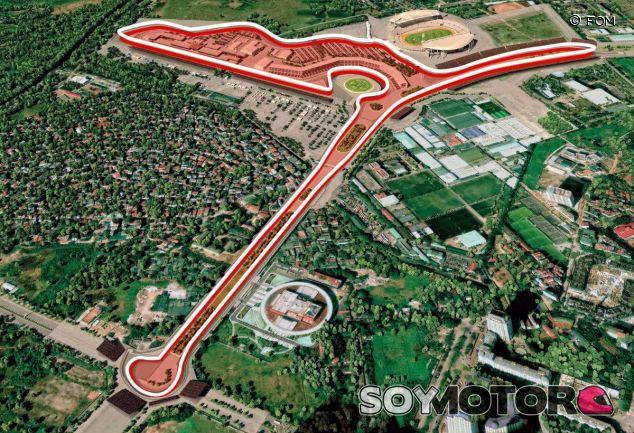 Circuito urbano de Hanói en 2020 – SoyMotor.com