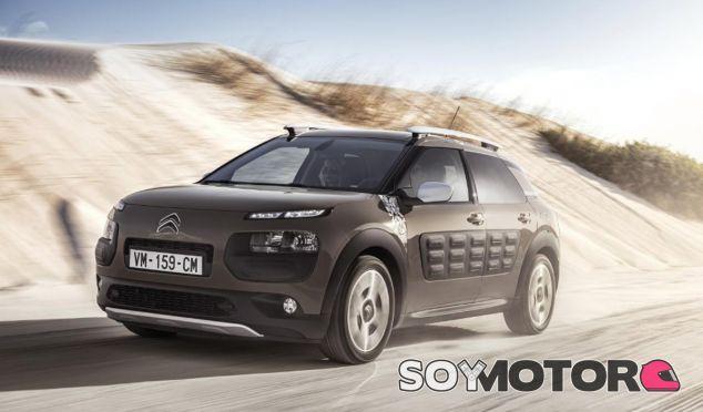 Esta es la imagen del Citroën C4 Cactus Rip Curl