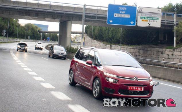 Foto de la ruta realizada entre Vigo y Madrid por un vehículo Citroën equipado con tecnología de conducción autónoma - SoyMotor