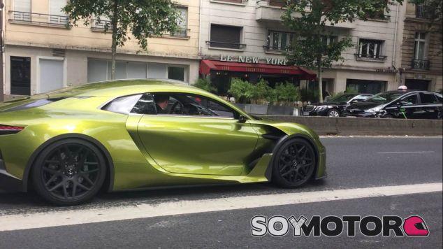 Citroën DS E-Tense por las calles de París