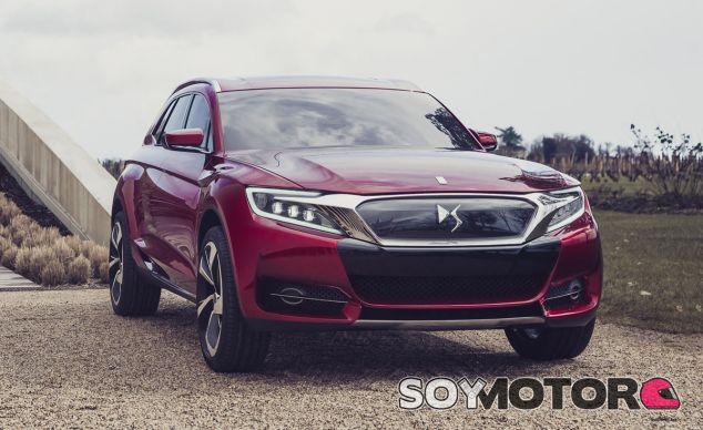 El DS Wild Rubis Concept fue el primer acercamiento al segmento de los SUV de la marca - SoyMotor