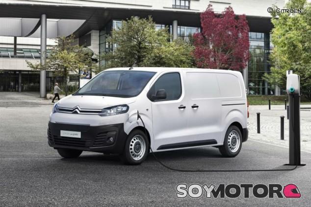 Citroën ë-Jumpy 2020: la verión eléctrica, con dos baterías diferentes - SoyMotor.com