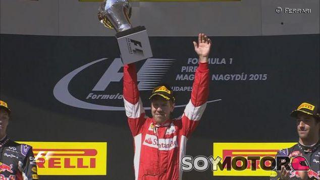Vettel venció en Hungría - LaF1.es