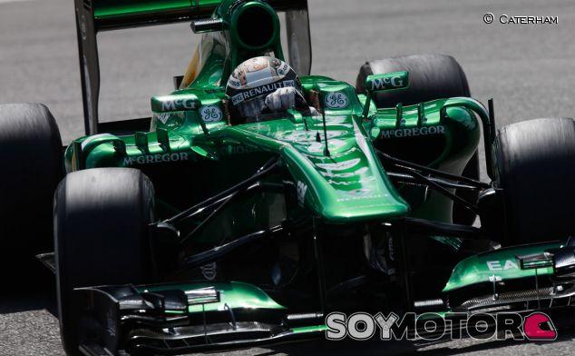 Caterham en el GP de Alemania F1 2013 - Sábado