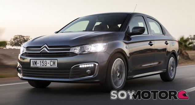 El Citroën C-Elysée se renueva tanto a nivel visual como en equipamiento - SoyMotor