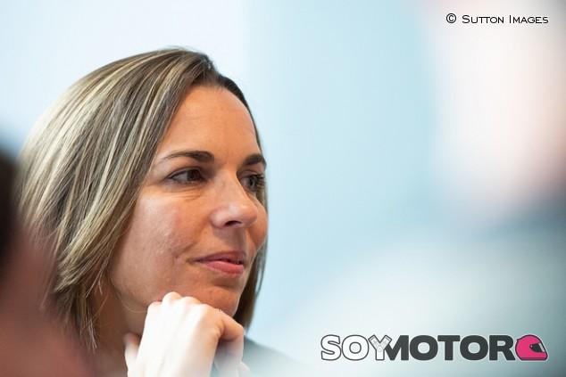 Claire Williams, sorprendida por la calidad de los posibles inversores - SoyMotor.com
