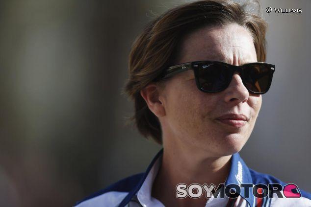 Claire Williams pide paciencia antes de criticar la F1 - LaF1