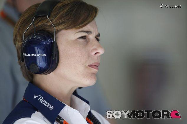 Claire Williams durante el GP de Baréin - LaF1.es